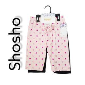 Shosho twin pack Shorts  / Bermudas NWT!